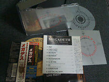 MEGADETH / CRYPTIC WRITINGS / JAPAN LTD 2CD OBI bonus track