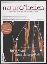 Natur & Heilen 11/11 Achtsamkeit Energiesparlampen Kombucha Isometrische Fitness