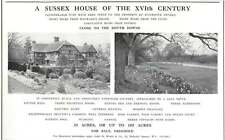 1937 16th Century Sussex House 8 Miles Haywards Heath 33 Acres For Sale