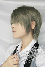 025 New Short Dark gray Cosplay Party Wig