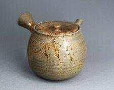 Tokoname Mogake Teapot (recent work) by Gisui, #gisui77 : D77*H69mm, 200ml