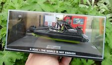 007 JAMES BOND - The Q-Boat - The world is not enough - 1:43 BOXED MODEL
