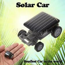 Smallest Mini Solar Powered Robot Racing Car Toy Fun Gadget For Children Kids