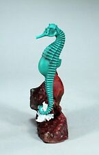 PREGNANT MALE SEAHORSE Statue Green New direct from JOHN PERRY 7' tall Sculpture