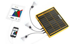 10W Portable Solar Panel Generator W/ Lithium ion Battery Bank - QSOLAR QSB2