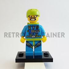 LEGO Minifigures - 1x col150 - Skydiver - Collectibles Omino Minifig Series 10
