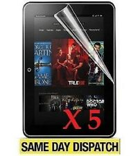 5 X Amazon Kindle Fire HD 8.9 Inch Screen Protectors Film Cover & Clean Cloth