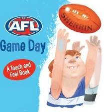 NEW Official AFL Game Day Touch and Feel Book Penguin Books Australia Hardcover