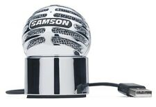 Samson Meteorite USB Condenser Microphone + stand & lead for computer recording
