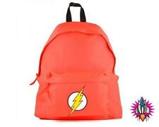 OFFICIAL DC COMICS THE FLASH JUSTICE LEAGUE RED SCHOOL BACKPACK RUCKSACK BAG