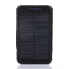 200000mah Waterproof Solar Power Bank External Battery Charger For Phones Black