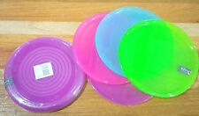 LTB: INSPIRE REUSABLE KIDS DINNERWARE COLORED MINI PLATES 4's parties, giveaways