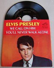 Elvis Presley We Call On Him / You'll Never Walk Alone 47-9600 Rare VINYL MINT