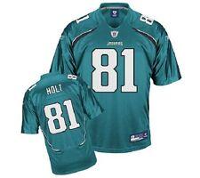 NFL Authentic ONFIELD Trikot JACKSONVILLE JAGUARS Torry Holt 81 teal sz50 XL