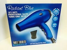 Hot Tools Titanium Radiant Blue 1875 Watts Turbo Ionic Dryer
