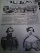 L'illustration n°577 18 mars 1854 haïti roumavagis en provence lord raglan