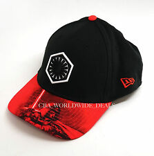 NEW Disney Parks New Era 39thirty Star Wars Force Awakens Black Kylo Ren Hat Cap