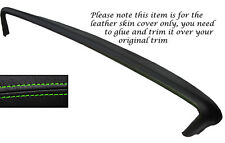 GREEN STITCH TOP DASH DASHBOARD LEATHER SKIN COVER FITS PONTIAC BONNEVILLE 1967
