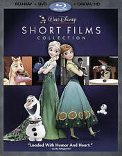 BLU-RAY PIXAR SHORT FILMS COLLECTION VOL 3 +DVD COMBO SET DISNEY'S FROZEN FEVER