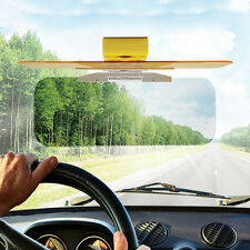 2in 1 Mirror Car Sun Visor Dazzle Anti-Glare Goggle Day Night Vision Driving FE