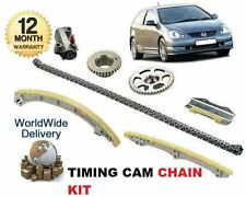 FOR HONDA CIVIC TYPE S SPORT 2.0 2002-3/2006 NEW TIMING CAM CHAIN TENSIONER KIT