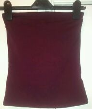 H&M Purple Strapless Top Size small (UK 6-8). Boob Tube Cropped top.