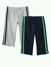 AUTH.BNWT CARTER'S BABY BOY'S 2 PACK PANT PAJAMAS 'ALL STAR' (18 MOS.)