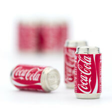 10pc/Set - Dollhouse Miniatures Coca Cola Soda Can Drinks Beverages Decorating