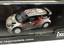 CITROEN DS3 WRC #7 ATTIYAH SWEDEN 2012 IXO RALLY 1:43 DIECAST-CAR-MODEL RAM503