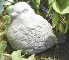 Latex only simple bird mold plaster concrete casting garden mould
