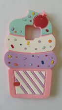 IT- PHONECASEONLINE SILICONE COVER CUPCAKE PARA SAMSUNG GALAXY S6