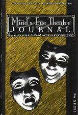 Mind 's Eye Theatre-The Live Action Gaming Magazine-Journal-issue #1-new - very rare