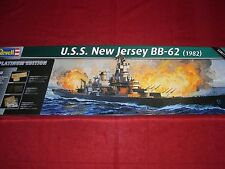 REVELL ® 05129 1:350 USS NEW JERSEY bb-62 (1982) NUOVO OVP