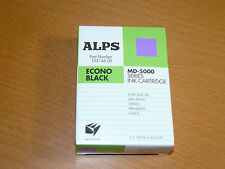 "ALPS MD-5000 SERIES ""Econo Black"" ink cartridge - new unused 105146-00"