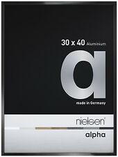 Nielsen Alpha Picture Frame Black Polished 60x80cm