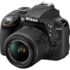 Nikon D3300 DX DSLR + Nikon 18-55 VR II Lens