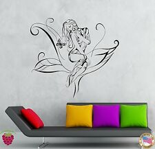 Wall Stickers Vinyl Decal Girl Teen Flower Tree Butterfly Bedroom Decor (z1932)
