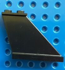 LEGO 2340 TAIL 4 X 1 X 3 BLACK FIN PLANE. From sets 9446, 6986, 6923 etc