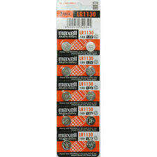 Maxell Batteries LR1130 (189, LR54, AG10) Alkaline Button Size Battery,10 Pack