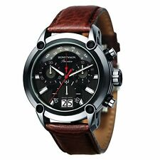 ROMANSON PREMIER Men's PL1219HM2DB32W Art Rocks Brown Watch