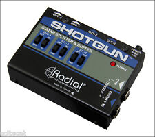 New Radial Engineering Tonebone Shotgun 4-Channel Amp Amplifier Driver DI Box