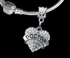 Doctor Charm  Fits European style Bracelet and necklace  Great doctor gift