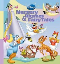 Disney Nursery Rhymes and Fairy Tales by Disney Book Group Staff (Hardcover)