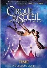 CIRQUE DU SOLEIL WORLDS AWAY (DVD, 2013) NEW