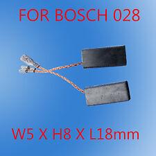 Carbon Brushes For Bosch 028 GWS9-125C Grinder 5X8X18mm GWS6-100 GWS6-115 7-115