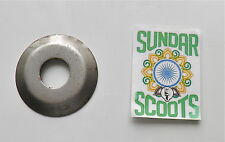 CRANK OIL THROW WASHER FOR LAMBRETTA SCOOTERS. (NOT LI SERIES1& EARLY SERIES 2)