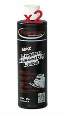2 x TORCO MPZ ENGINE ASSEMBLY LUBE 12oz BOTTLE LUBRICANT OIL SOLUBLE MOTORSPORT