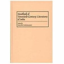 Handbook of Twentieth-Century Literatures of India (Literature; 65)-ExLibrary
