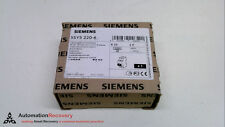 SIEMENS 5SY5 220-6, MINIATURE CIRCUIT BREAKER, 400V, 2 POLE, 3.5NM MAX,  #225085