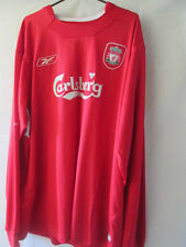 Liverpool 2002-2004 Home Football Shirt Size XXL /13864 Long Sleeves